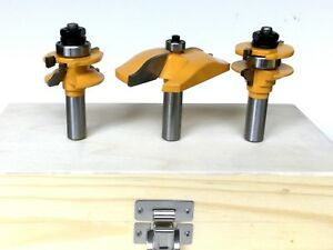 3pc-Ogee-Raised-Panel-amp-Ogee-Rail-and-Stile-Router-Bit-Set-S