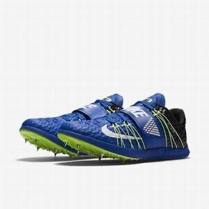 Nike TRIPLE JUMP TJ ELITE Track Shoes BLUE 705394 413 MEN 9.5 Spikes+SRT & Bag