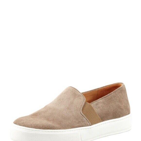 Vince Blair brown suede sneakers size 7.5 38