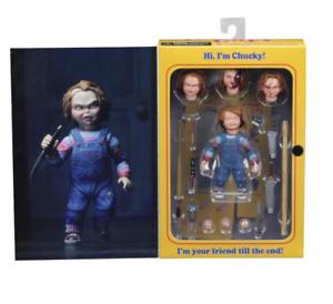 "NECA Childs Play Chucky-Ultimate Chucky 4/"" Action Figure en stock"