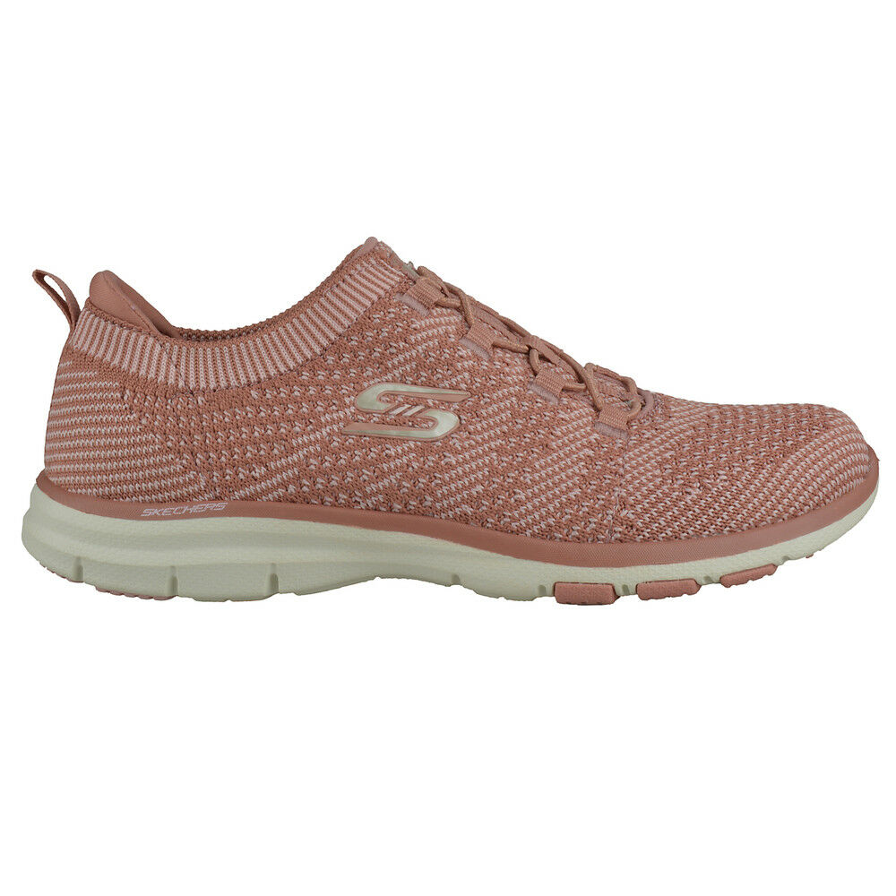NEU SKECHERS Damen Sneakers Turnschuhe Pink Memory Foam Knit GALAXIES Pink Turnschuhe 731e6f