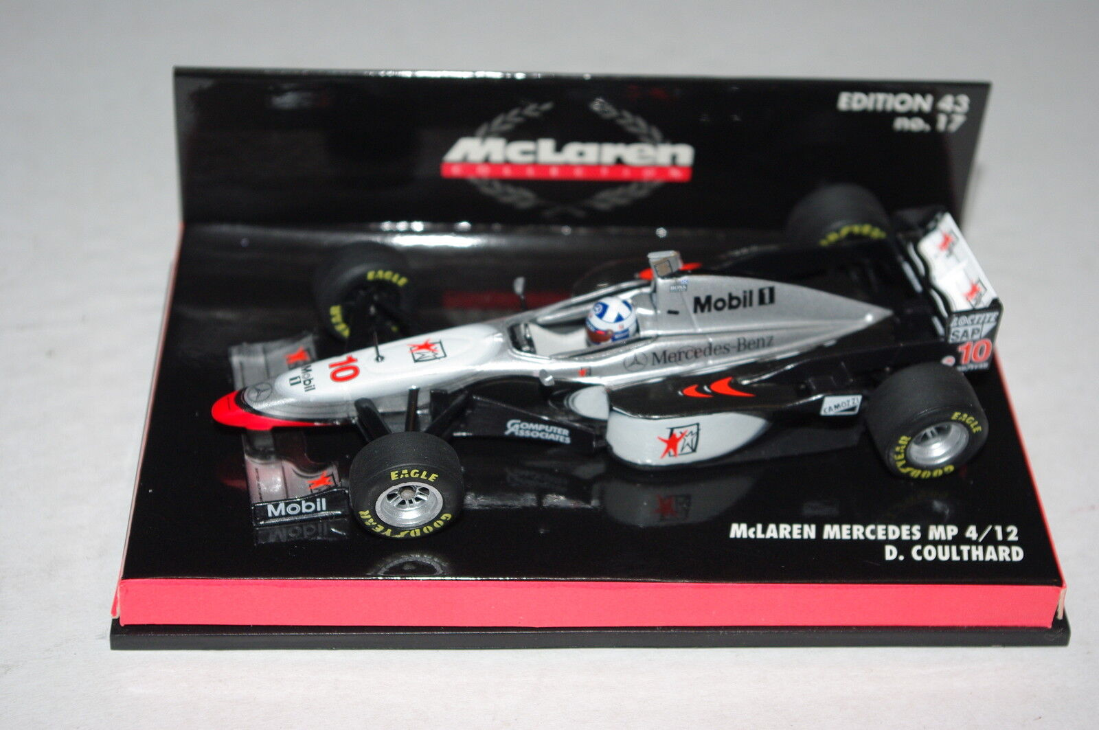 Minichamps F1 1 43 McLAREN MERCEDES MP4 12 DAVID COULTHARD
