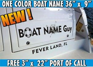 image is loading boat lettering name graphics marine identity decal design