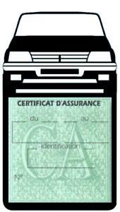 Porte-vignette-assurance-PEUGEOT-205-GTI-etui-voiture-Sport-Stickers-auto-retro