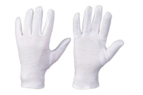 3 Paar Vergolderhandschuhe Baumwollhandschuhe Handschuhe aus 100/% Baumwolle