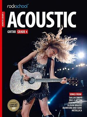 Contemporary Rockschool Acoustic Guitar 2016 Grade 4 Online Instruction Books, Cds & Video