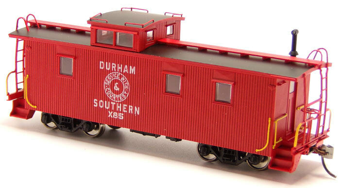Durham & Southern - X85 Wood Caboose RTR