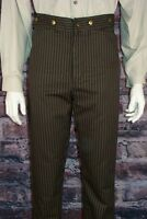 Frontier Classics Brown Stripe Outlaw Trouser Cowboy
