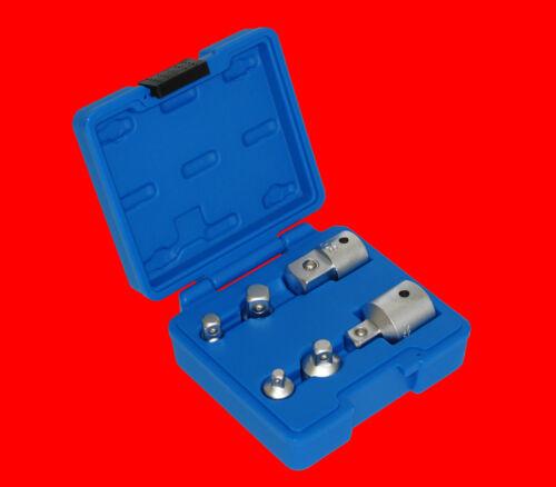 """3//4/"""" bgs 199 6 piezas calidad vaso adaptador insertos para trinquetes de 1//4/"""""""