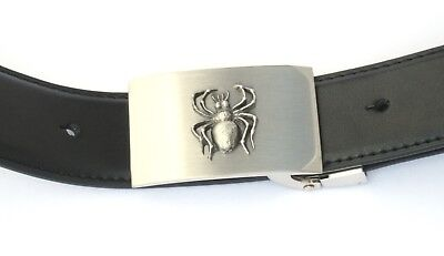 Dolphin Emblem Belt Buckle and Leather Belt in Gift Tin Ideal Wildlife Present
