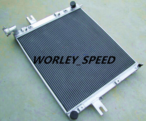 Aluminum Radiator For JEEP GAND CHEROKEE 1999-2005 WJ /& WG 4.7 V8 AT//MT  2 Rows
