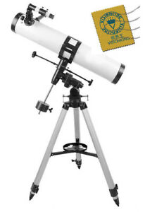 Visionking-114-mm-900-Equatorial-Mount-Space-Astronomical-Telescope-Deep-Sky