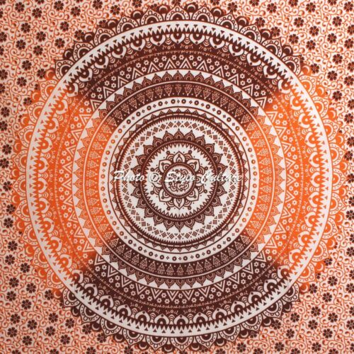 Hippie Single Wall  Hanging Bedding Bed Cover Indian Bohemian Bedspread Throw