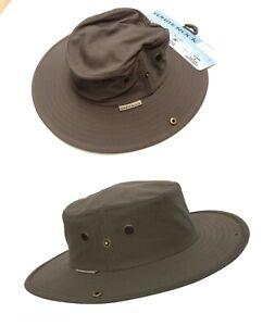 Unisexe-Chapeau-de-soleil-Active-Hydro-Cool-Bugs-Off-Outback-Hat-SP30-Avec-cache-Pocket