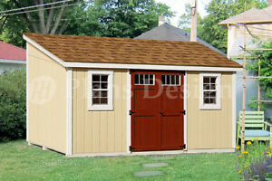 Image Is Loading 10 039 X 14 039 Storage Shed Plans