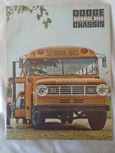 Dodge-School-Bus-Chassis-brochure-c1960-039-s-Canadian-market
