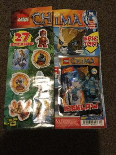 LEGO legends of CHIMA Magazine issue 20 iceklaw