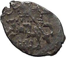 1547 Ivan IV the Terrible Tzar King of Russia Silver Wire HorseKopek Coin i45321