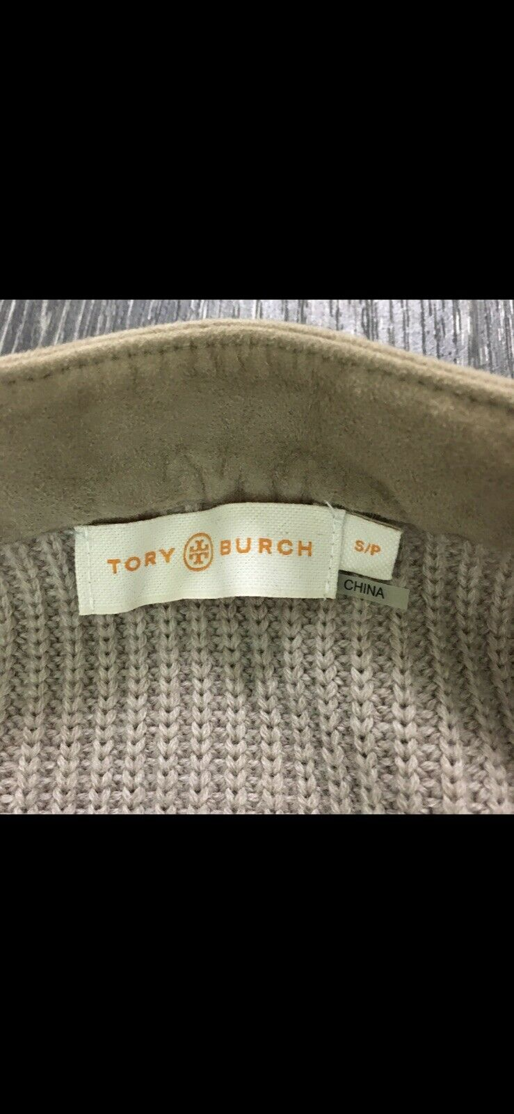 Tory Burch Wool/Suede Cardigan Blazer Size Small  - image 4