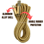 miniature 3 - 3X 10Ft Micro USB Fast Charger Cable Heavy Duty Charging Cord For Android Phone