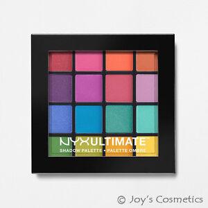 1-NYX-Ultimate-Shadow-Palette-Eyeshadow-034-USP04-Brights-034-Joy-039-s-cosmetics