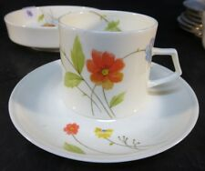 Mikasa Just Flowers Cup & Saucer Pattern # A 4-182