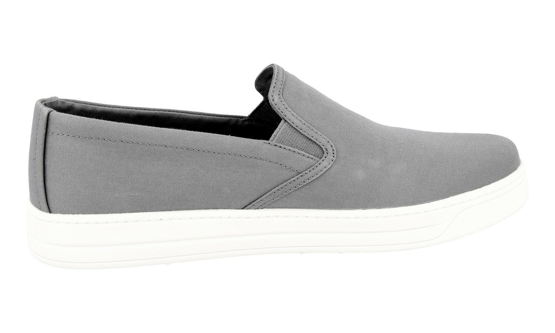 shoes PRADA LUSSO LUSSO LUSSO 3S5802 ACCIAIO NUOVE 40 40,5 UK 7 ec9836