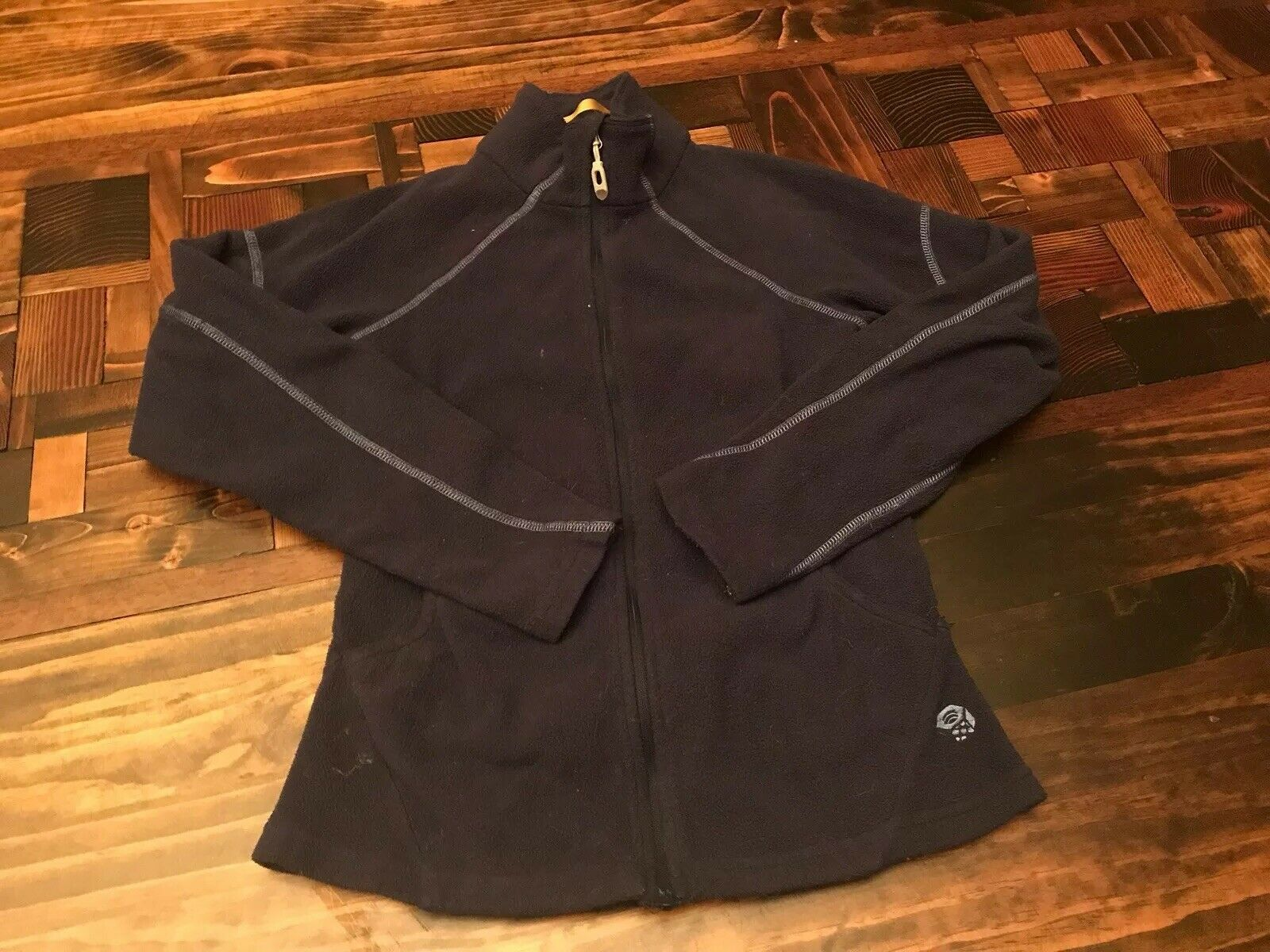 Mountain Hardwear Fleece Zip Up Women's XS blue