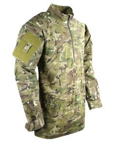 BTP-GREEN-CAMO-RIPSTOP-UBACS-TOP-LONG-SLEEVE-2-UTILITY-ARM-POCKETS-military