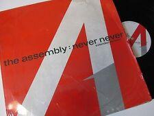 "Assembly-Never Never-12 Tiny 1-Vinyl-12""-Single-Record-1980s"