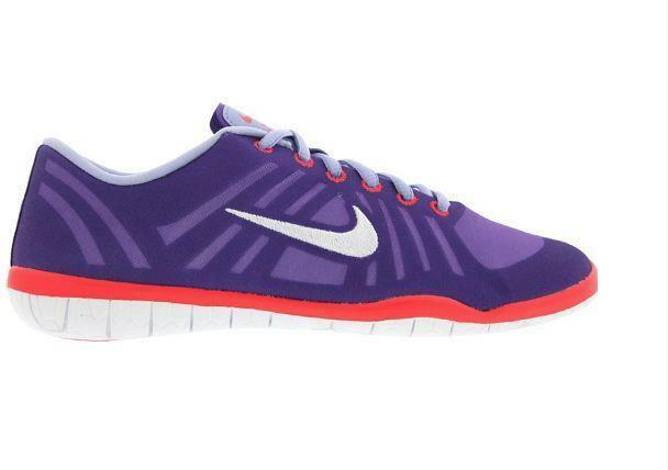 Womens NIKE FREE 3.0 STUDIO DANCE Purple Trainers 641649 500