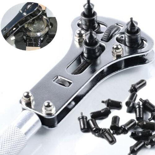 Uhr Armbanduhr Gehäuseöffner Reparatur Werkzeug Zange Schraube Auswechseln