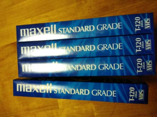 Maxell,TDK,Sony,Fuji Used Blank VHS Tapes T-160 8hr or T-120 6hr Lot includes