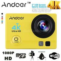 Ultra-hd 4k 1080p Wifi Dv Fpv 16mp Waterproof Action Sport Camera Video Cam Z82l