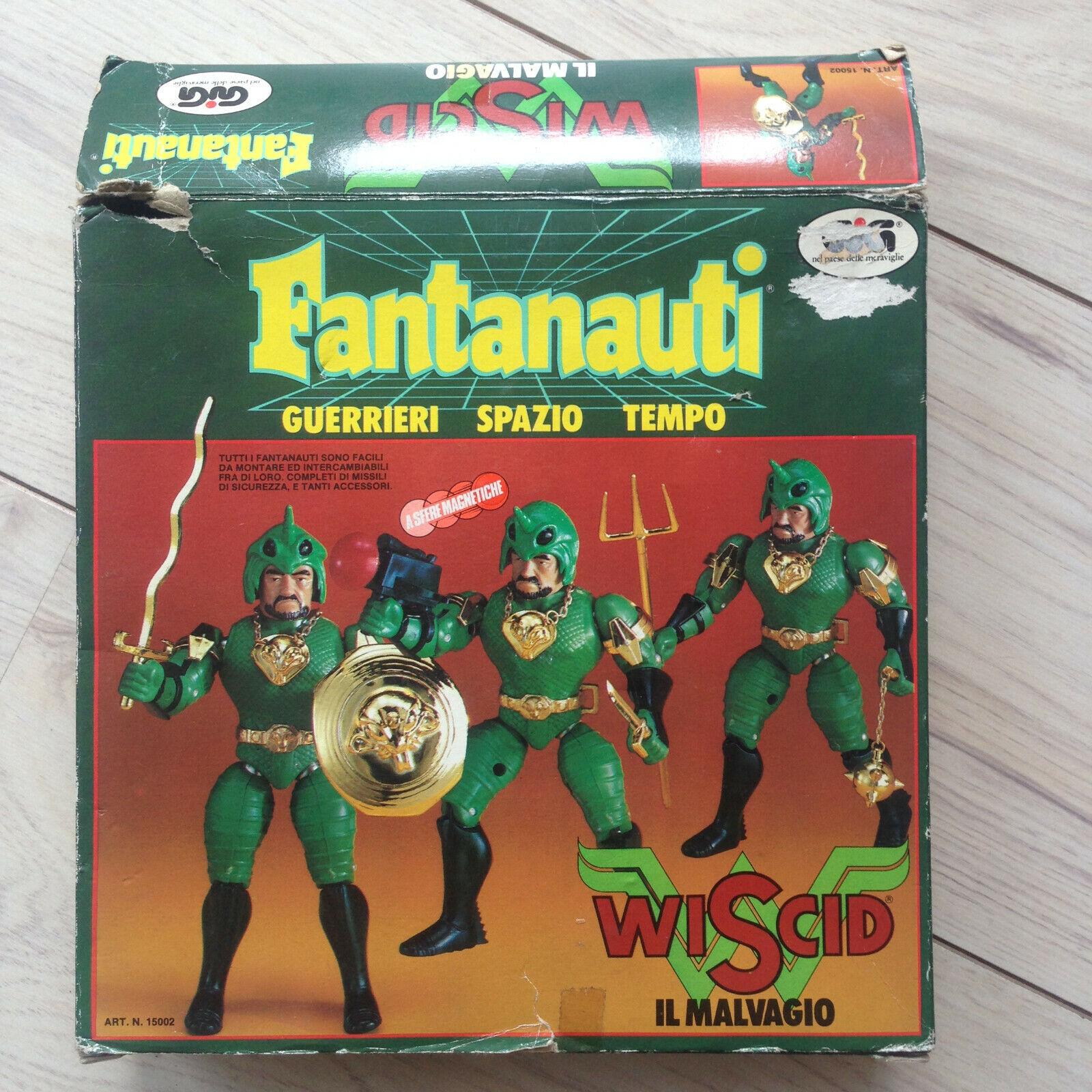 Fantanauti Wiscid Wiscid Wiscid by Gig  Micronauts Microman Takara  2 6e3c2d