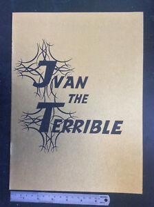 IVAN-THE-TERRIBLE-Pt-II-rare-1950-MOVIE-PROGRAM-Sergei-Eisenstein-Soviet-cinema