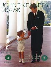 John F. Kennedy Sr. & Jr.-Remnants Affixed to a Relic Card