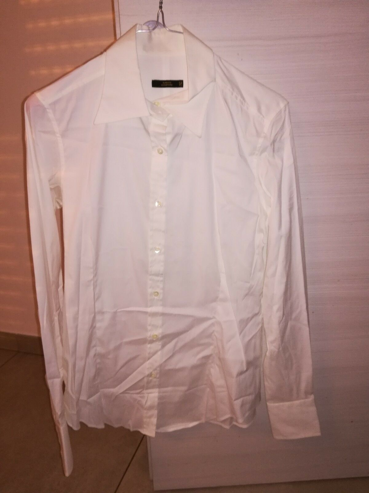 06bc29ab967ebe MAURO GRIFONI Donna TG 46 colore MADE IN ITALY Camicia Bianco ...