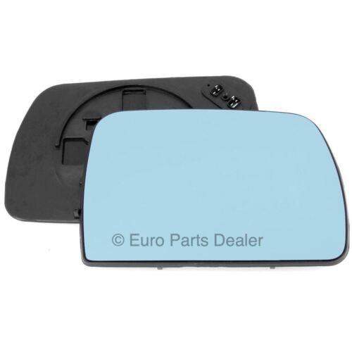Fahrerseite Klemme Beheizt Blau Seitenspiegelglas Konvex für BMW X5 E53 00-06