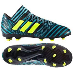 ba4402a33612 adidas Nemeziz 17.3 FG 2017 Soccer Shoes Cleats Ink   Yellow Kids ...