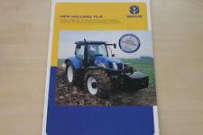 157151) New Holland TS 100 110 115 130 A Delta Prospekt 03/2006