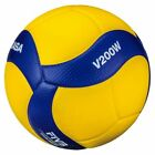 Mikasa V200W 2019 Official FIVB Indoor Volleyball - Blue/Yellow
