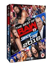 WWE The Best Of Raw And Smackdown 2016 [3 DVDs] *NEU* DVD