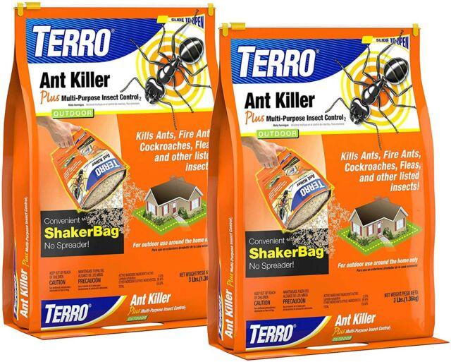 Terro T901 6 Ant Killer Plus 3lb Shaker Bag 2pack For Sale Online Ebay