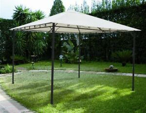 Gazebo-Rodi-3x2-mt-ferro-top-ecru-arredo-giardino-esterno-pergola