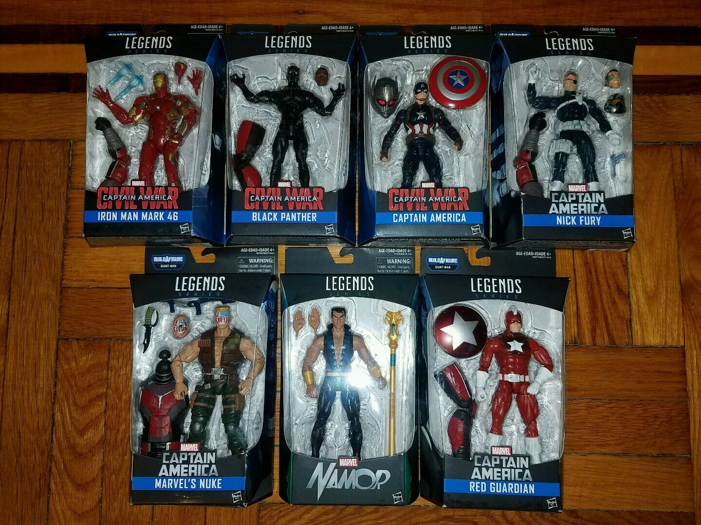 Marvel Legends Infinite Series Build A Figure Giant Man Action Figures