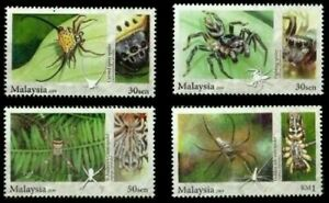 SJ-Arachnid-Spider-Insect-Malaysia-2009-stamp-MNH