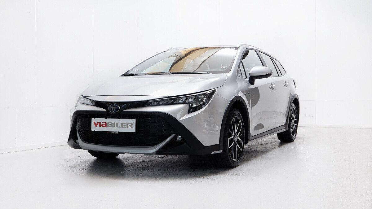 Toyota Corolla 1,8 Hybrid TREK Touring Sports MDS 5d - 279.900 kr.