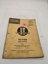 Oliver 99 Gmtc 950 990 995 770 880 O 13 Iampt Service Repair Manual