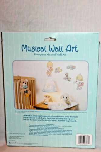PIECE MUSICAL WALL ART NEW IN BOX  2001 PRECIOUS MOMENTS 5